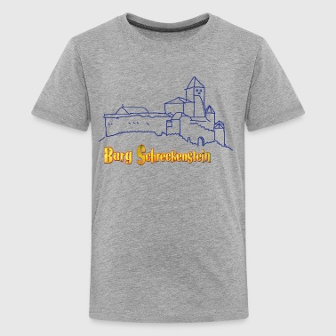 Teenager Premium T-Shirt - Burg Schreckenstein - Teenager Premium T-Shirt