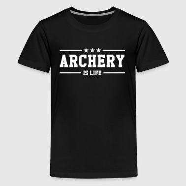 Archery - Teenager Premium T-Shirt