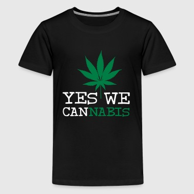Yes We Cannabis - T-shirt Premium Ado