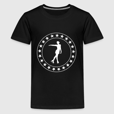 Ice Skating - Camiseta premium adolescente