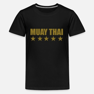 Muay Thai Muay Thai - Teenager Premium T-shirt