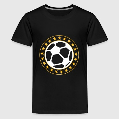 Football - Premium-T-shirt tonåring