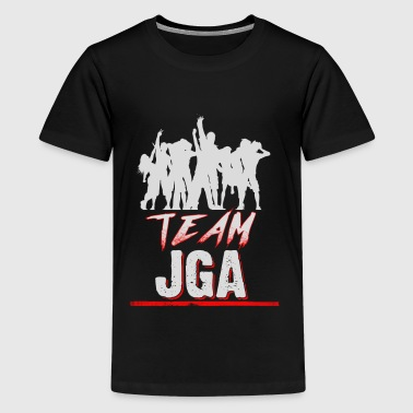 JGA - stag - team - Teenage Premium T-Shirt