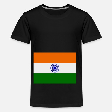 India india flag - Teenage Premium T-Shirt