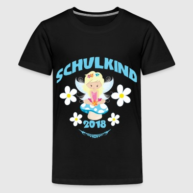 Schulkind 2018 Fee - Teenager Premium T-Shirt