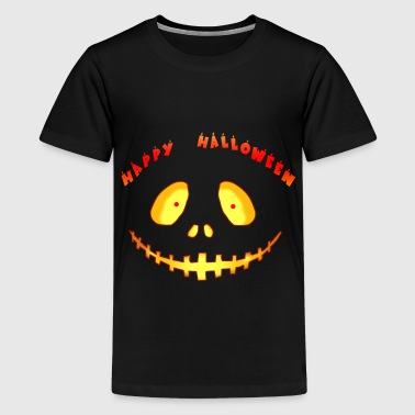 Happy Halloween geestige grijns lachen geschenk - Teenager Premium T-shirt