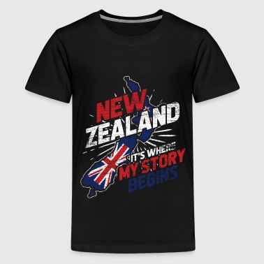 Neuseeland - Teenager Premium T-Shirt