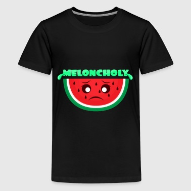 Melone Wortwitz - Teenager Premium T-Shirt