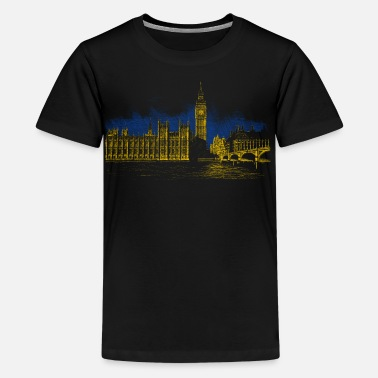 Big Ben Big Ben - Teenage Premium T-Shirt
