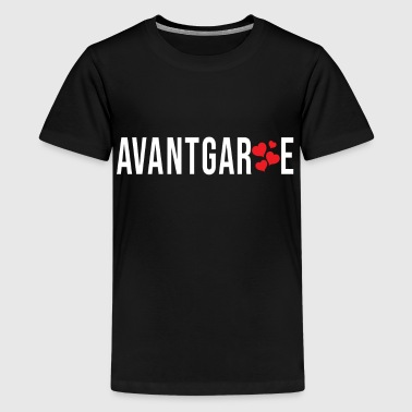 Vanguard Hearts Cool Simple Gift Idea - Teenage Premium T-Shirt