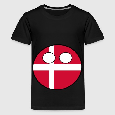 Countryballs Countryball Country Homeland Denmark - Teenage Premium T-Shirt
