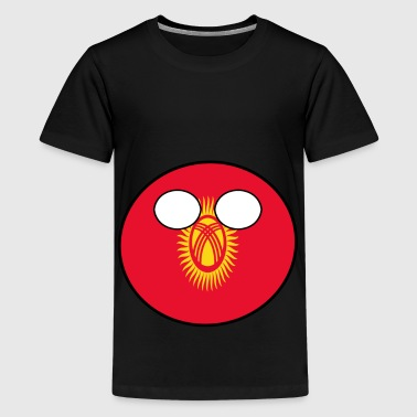 Countryball Country Home Kyrgyzstan - Teenage Premium T-Shirt