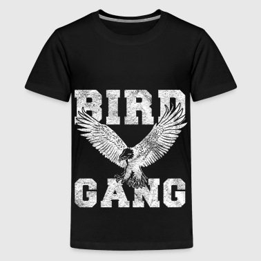 Vogels zwerm vogels vogel gift - Teenager Premium T-shirt