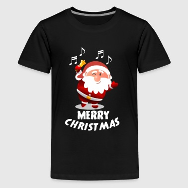 Merry Christmas - Santa - Nicholas - Teenage Premium T-Shirt