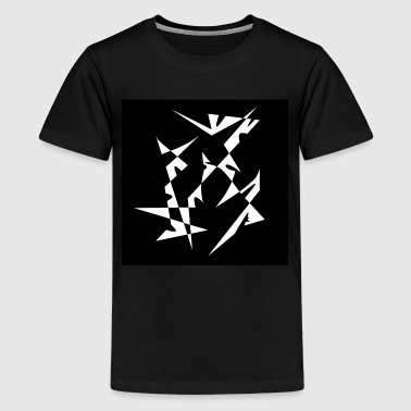 Abstract - Teenage Premium T-Shirt