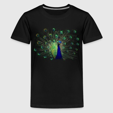 Pfau - Teenager Premium T-Shirt