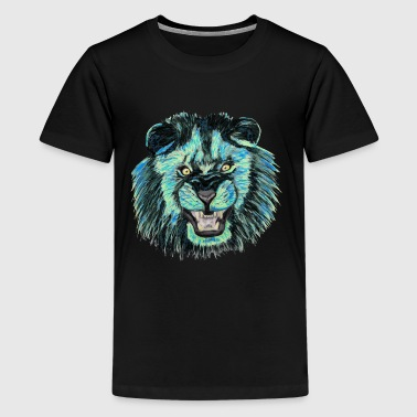 Löwe / Lion version 1 - Teenager Premium T-Shirt