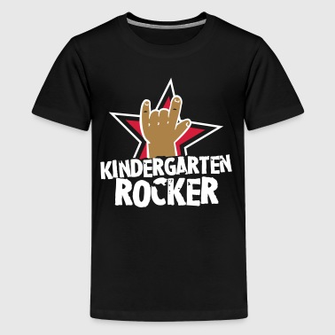 Kindergarten Rocker - Kleinkind - Kind - Rocker - Teenager Premium T-Shirt