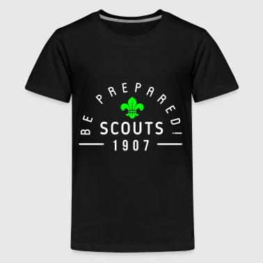 Scouts 1907 - be prepared - Teenager premium T-shirt