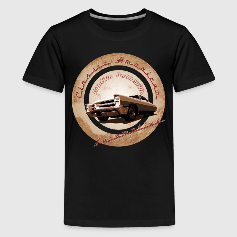 1966 Pontiac Bonneville - Teenage Premium T-Shirt