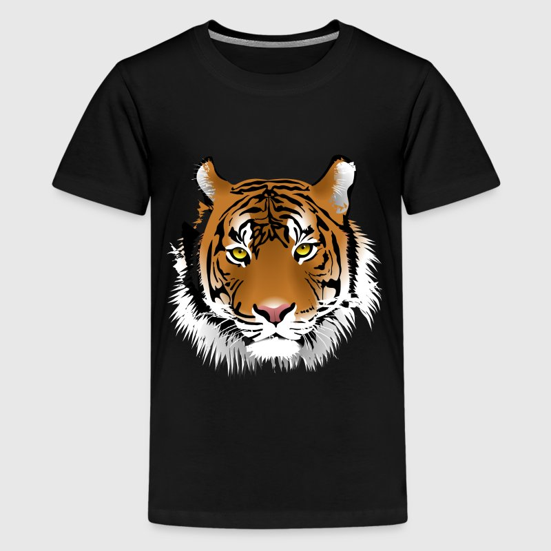 Tijger kop - Teenager Premium T-shirt