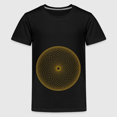 Flower of Life - Chakra Flower - Teenage Premium T-Shirt