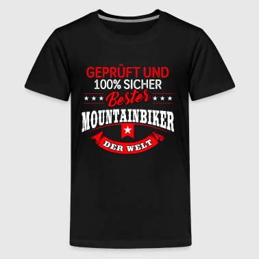 Mountainbike MTB Mountainbiker Fahrrad Biker - Teenager Premium T-Shirt