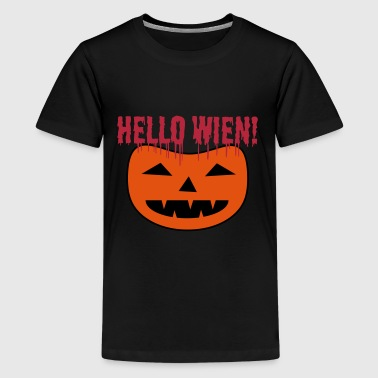 Halloween alias Hello Wien! - Teenage Premium T-Shirt