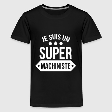 Maschinist / Industrie / Maschine / Arbeiter - Teenager Premium T-Shirt