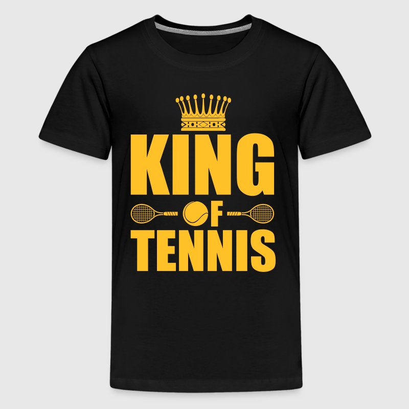 King of tennis - Teenage Premium T-Shirt