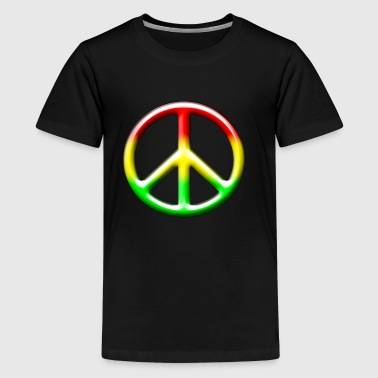 3D CND Rasta - Teenage Premium T-Shirt