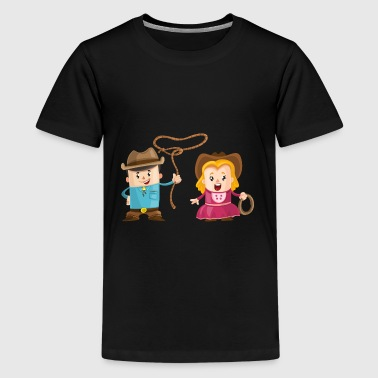 Lasso - Teenager Premium T-Shirt