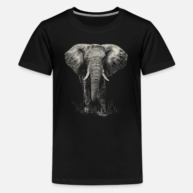 Elefant  - Teenager Premium T-Shirt
