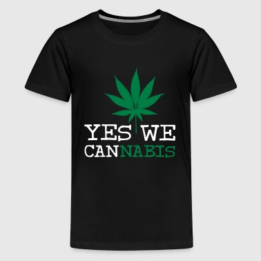 Yes We Cannabis Yes We Cannabis - Premium-T-shirt tonåring