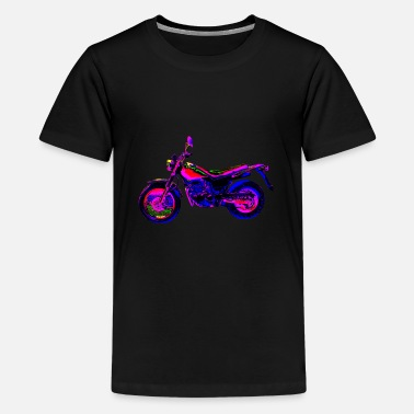 Motor Cross motor - Teenager Premium T-shirt