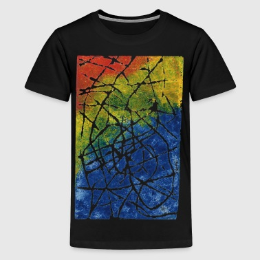Chromatic Labyrinth - Teenage Premium T-Shirt