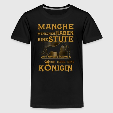 Pferde Königin - Teenager Premium T-Shirt