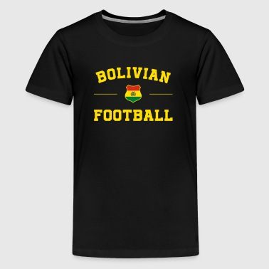 Bolivia Voetbal shirt - Bolivia Soccer Jersey - Teenager Premium T-shirt