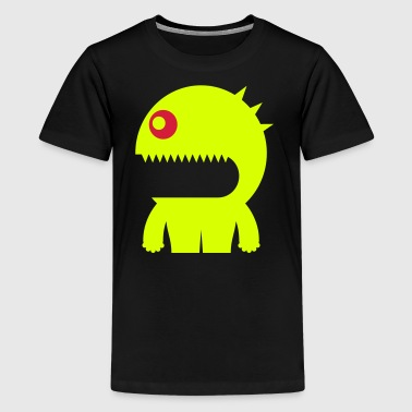 Biscuit Crusher - Space Monster Collection - Teenage Premium T-Shirt