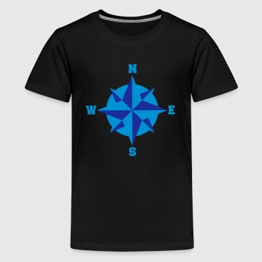 Maritieme compass_2c - Teenager Premium T-shirt