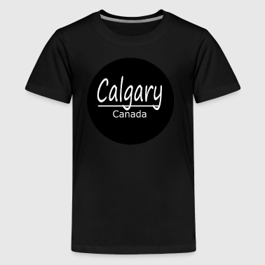 Calgary - Teenager Premium T-Shirt