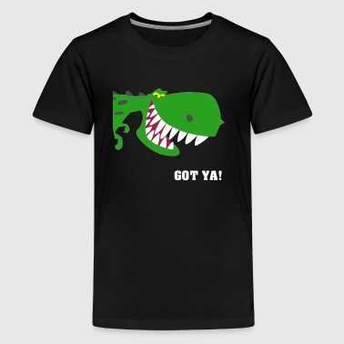 GOT YA Dino! - Teenager Premium T-Shirt
