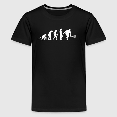 Evolution Tennis 5 - Teenager premium T-shirt