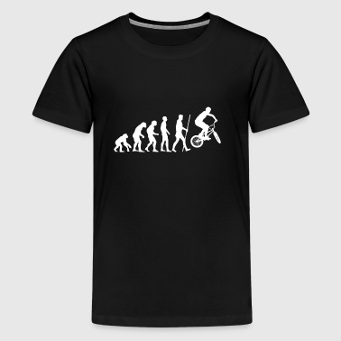 evolutie BMX - Teenager Premium T-shirt