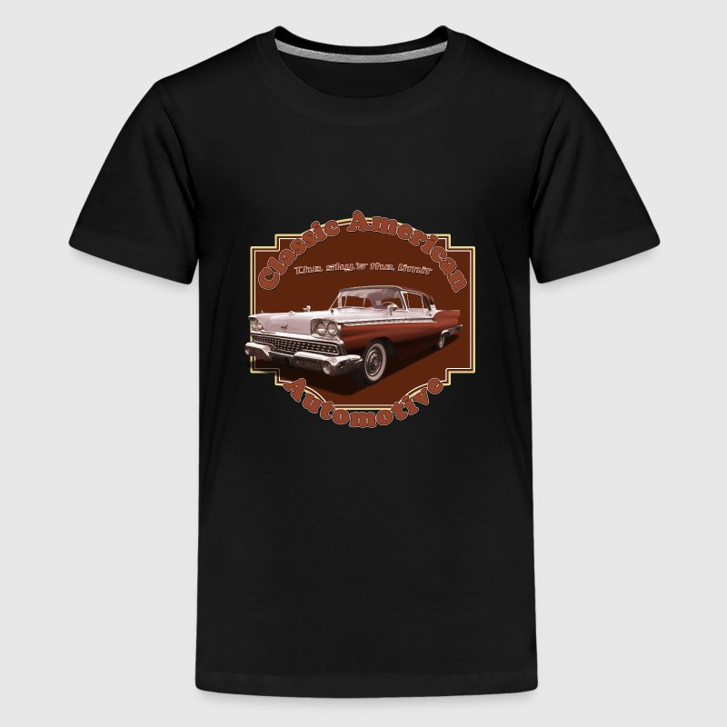 1959 Ford Skyliner - Teenage Premium T-Shirt