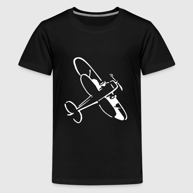 Flugzeug - Teenager Premium T-Shirt