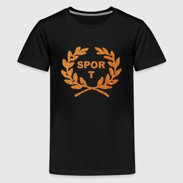 Sport - Teenage Premium T-Shirt