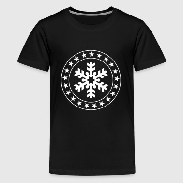 Winter - Premium-T-shirt tonåring