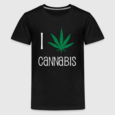 Cannabis - Teenager Premium T-Shirt