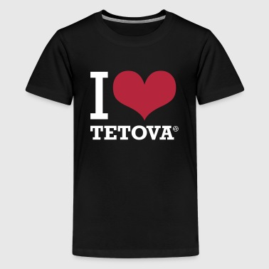 I LOVE TETOVA - Teenage Premium T-Shirt